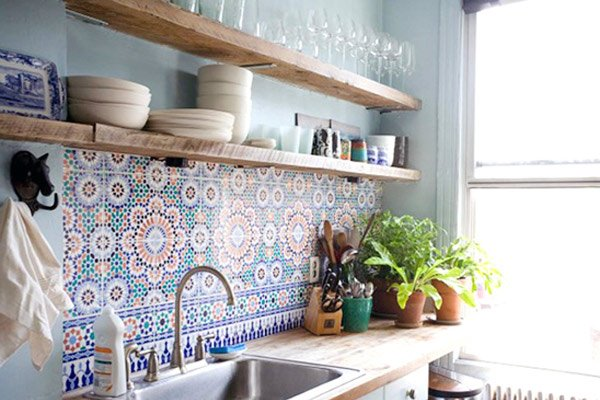 kitchen backsplash idea