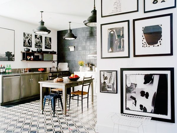 kitchen wall art design