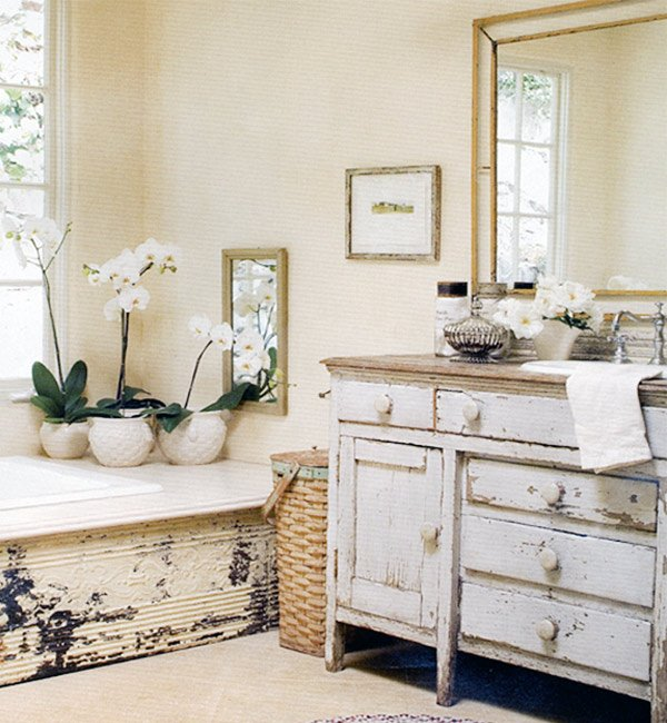 vintage bathroom design idea