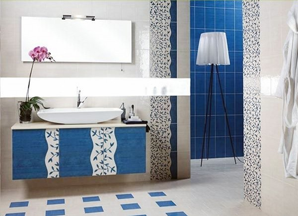 Beau Blue White Bathroom Ideas