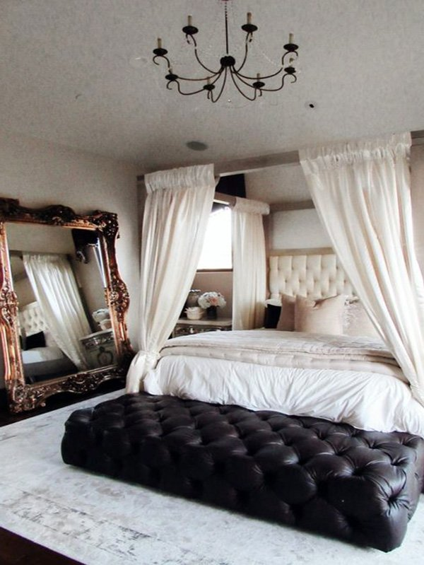 bohemian romantic bedroom