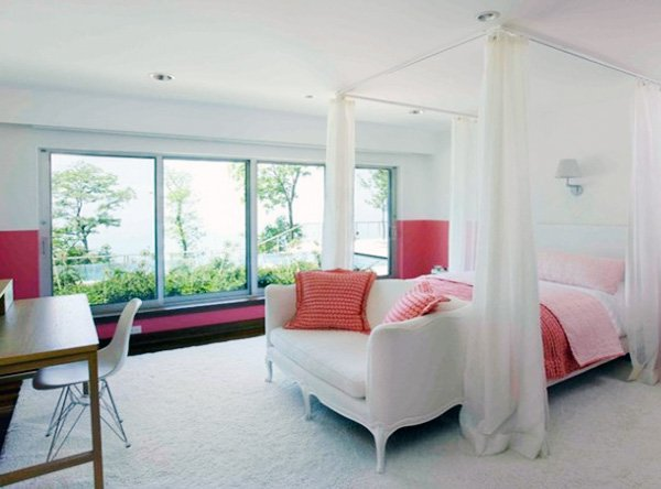 bright bedroom design