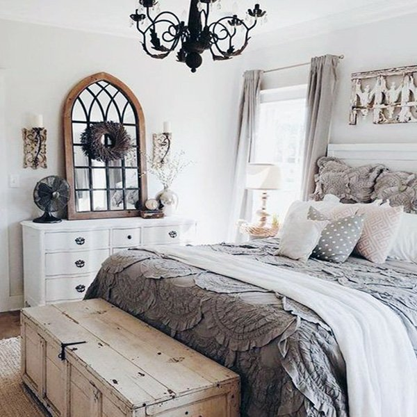 cosy romantic bedroom
