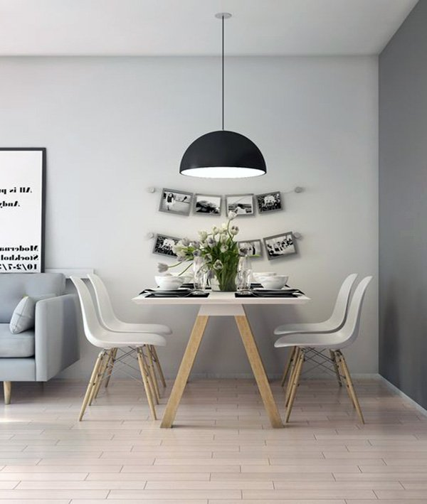 dining room design minimalist