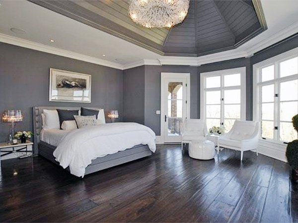 gray bedroom designs