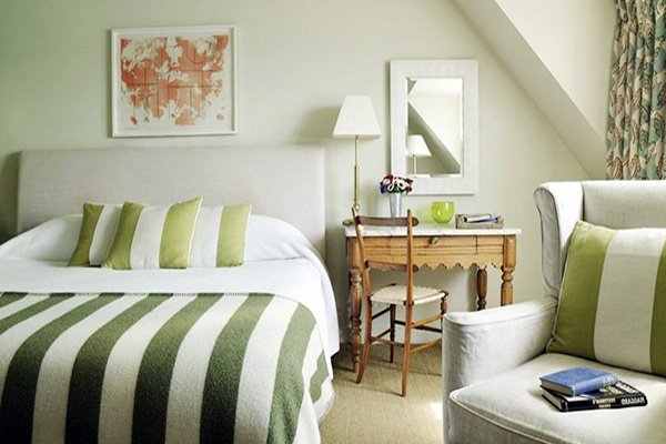 Refreshing Green Bedroom Designs