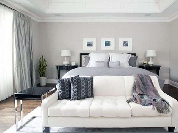 grey bedroom design