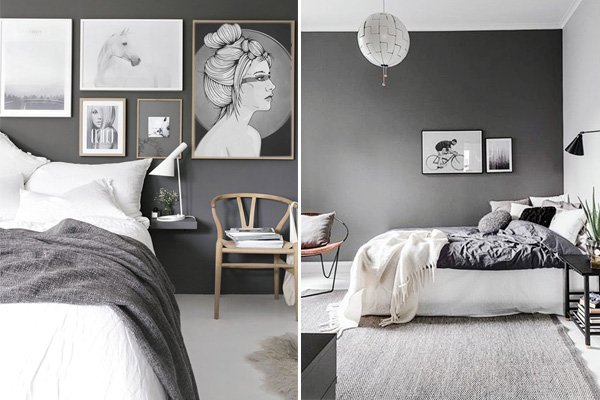 Stylish Grey Bedroom Designs