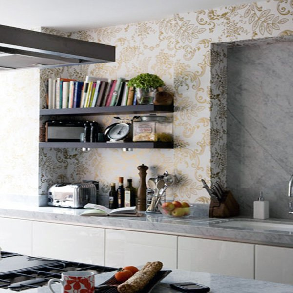 kitchen stylish wallpaper