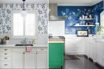 kitchen wall decoration ideas with wallpapers