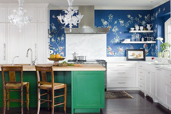 kitchen wall design wallpaper