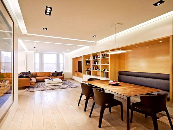 modern L Shaped Living Room design