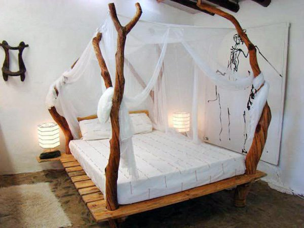 natural touch to your bedroom