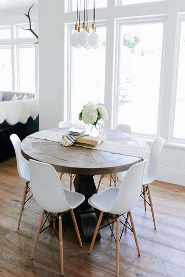 round dining table ideas