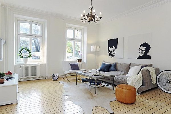 scandinavian living rooms