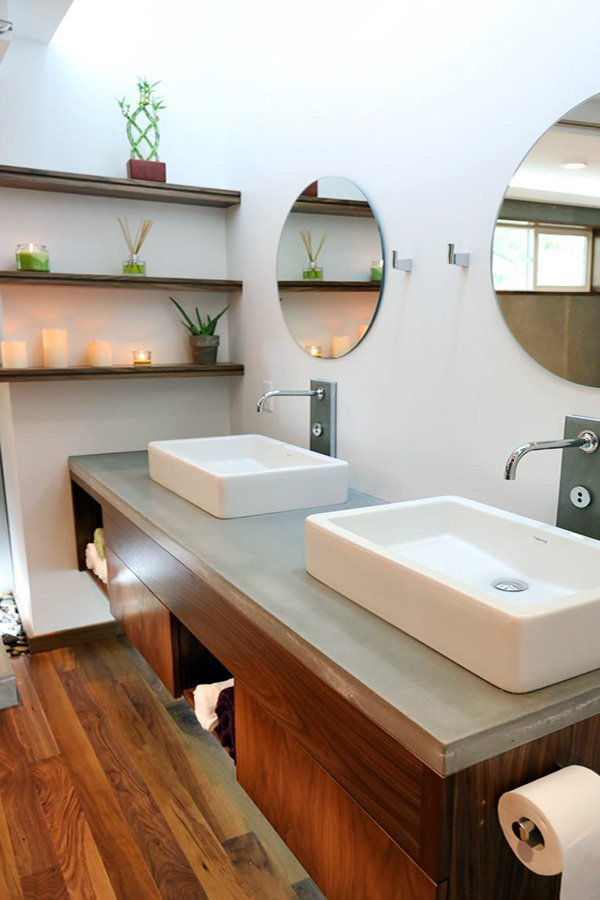 stylish bathroom sink design ideas