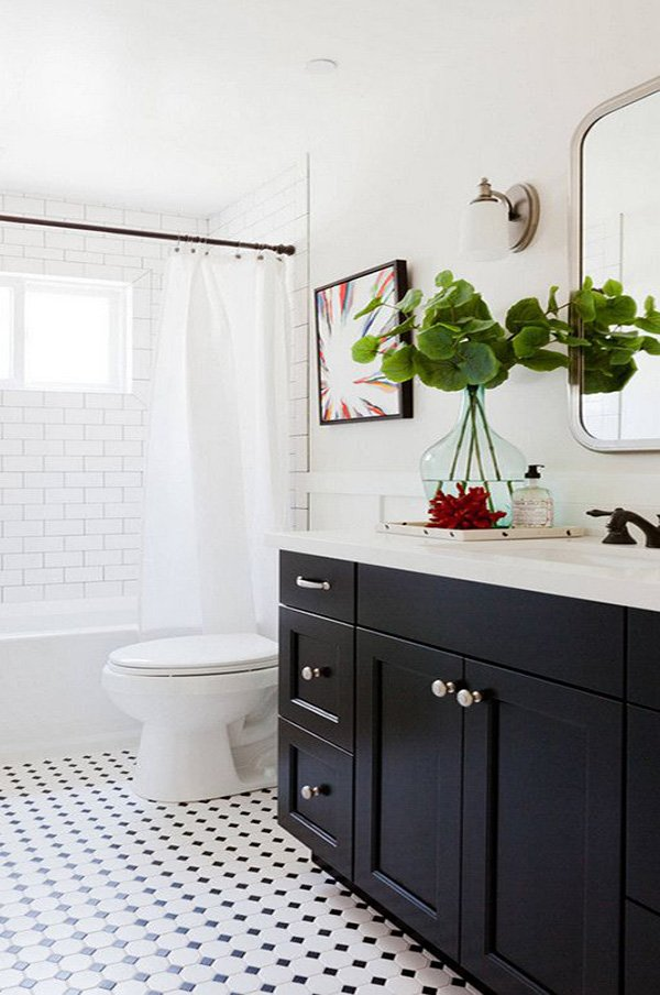 Black Bathroom Cabinets And Storage Es