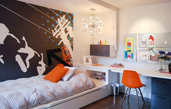 Stylish Teen Bedroom Decorations