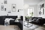 black white home decor
