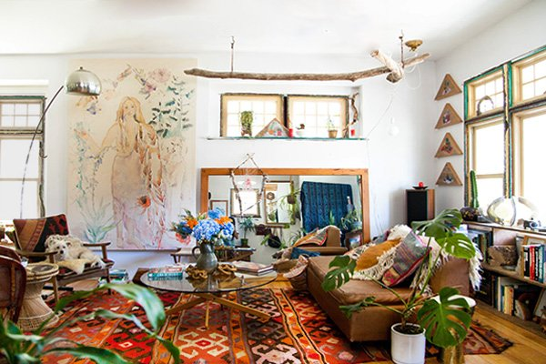 bright Bohemian Design ideas
