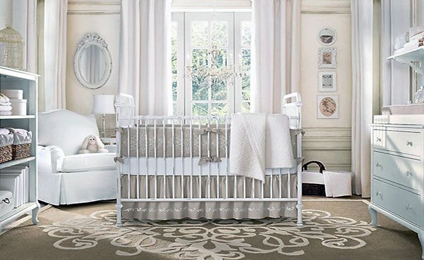chic nursery room
