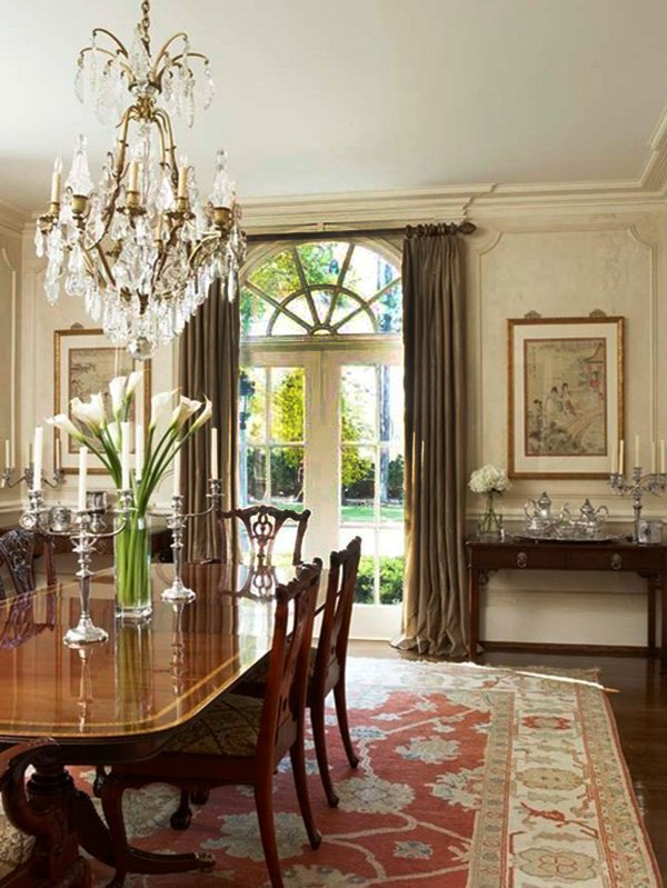 Classic and Chic Dining Room Designs