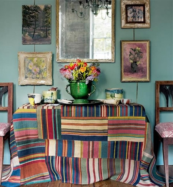 colorful Bohemian Decor