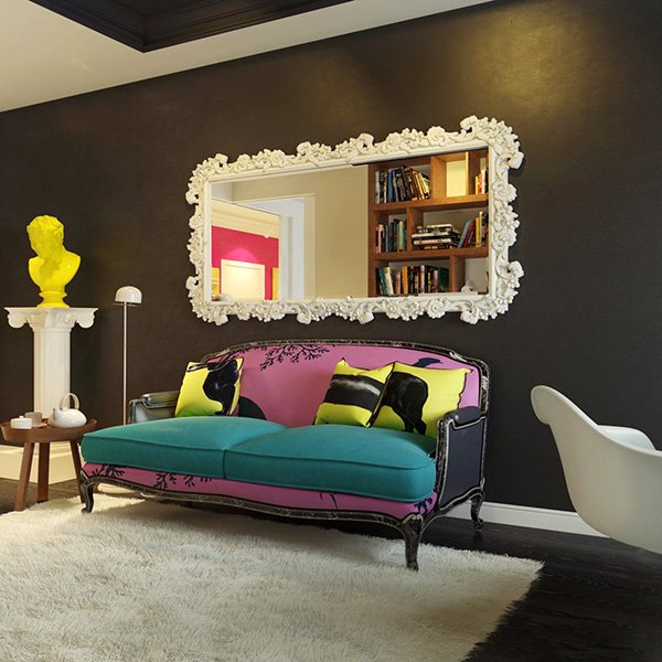 colorful couch design