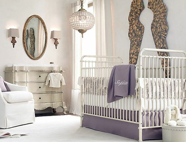 cosy nursery room design