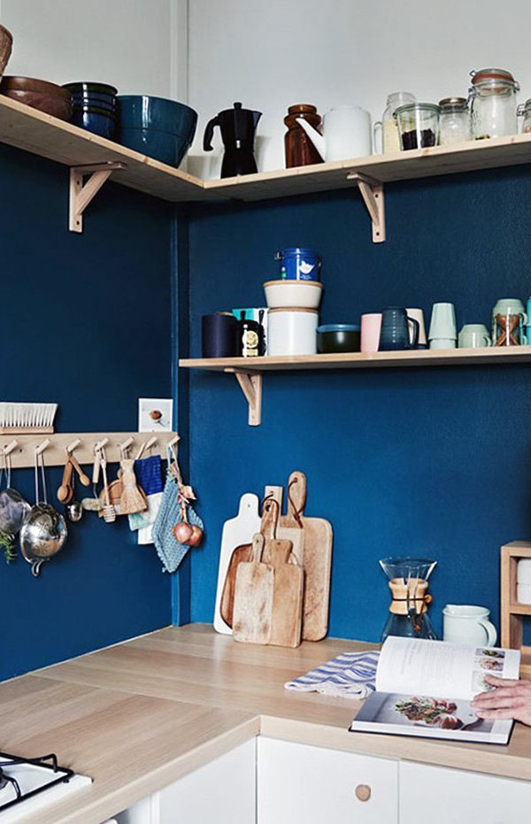 creative kitchen shelf designs