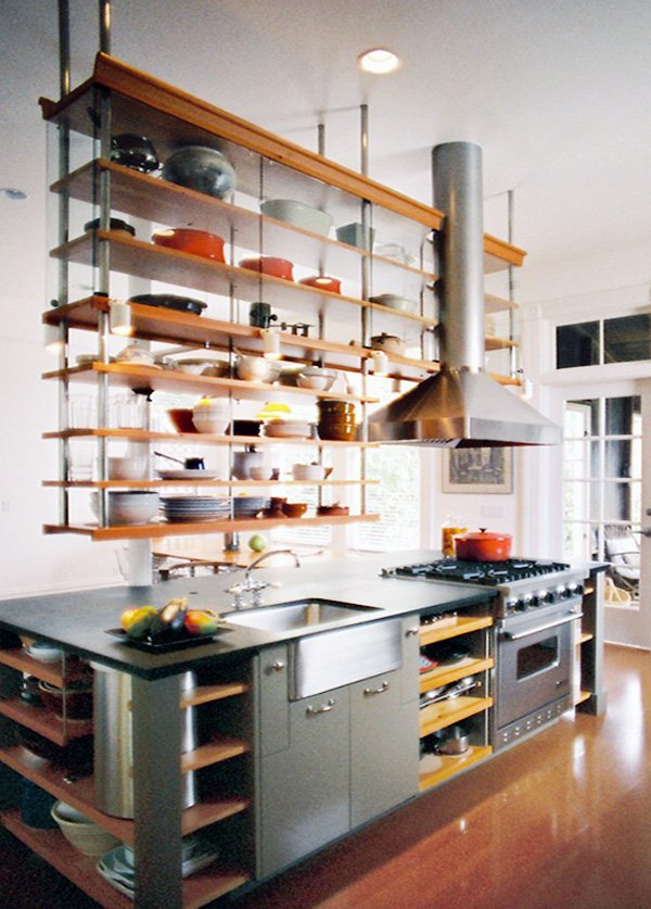 floating shelving design