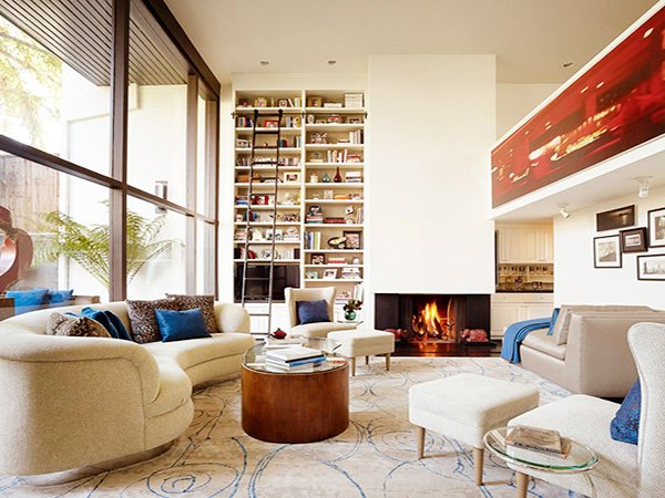 large Square Living Room decor