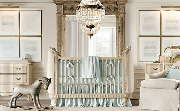modern nursery room design