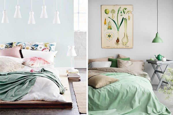 Brilliant Pastel Bedroom Decors