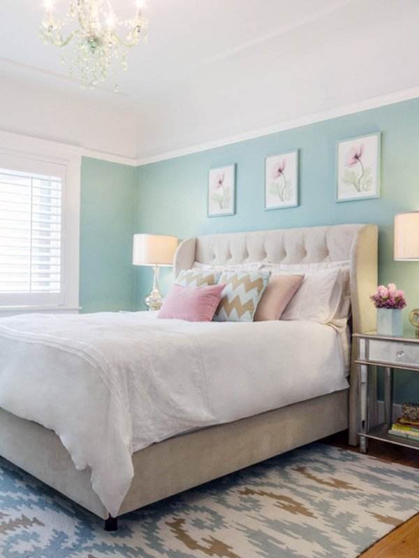pastel bedroom design ideas
