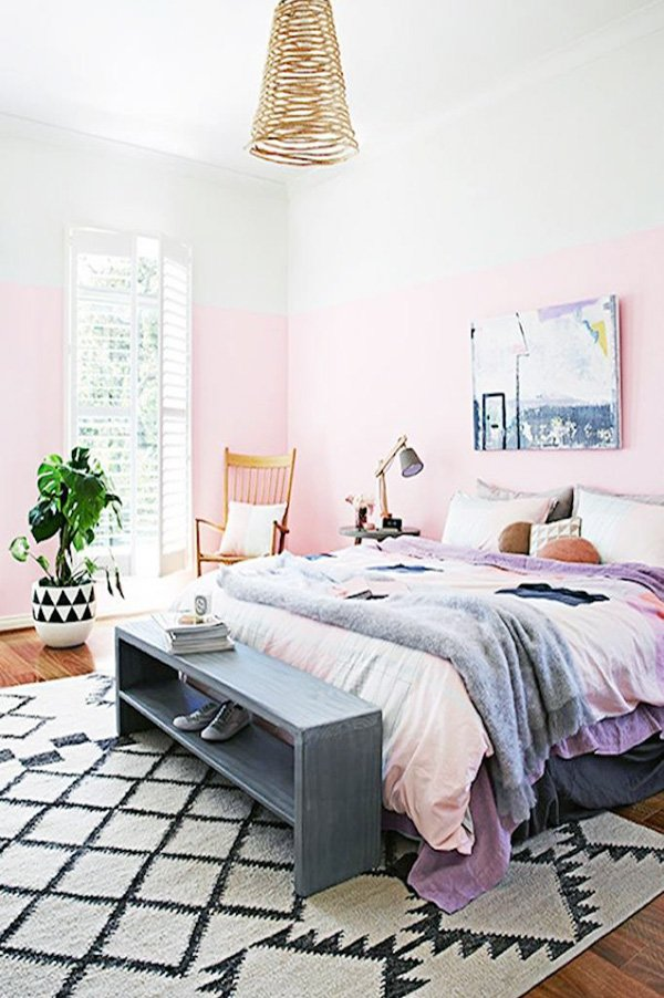 pastel bedroom idea