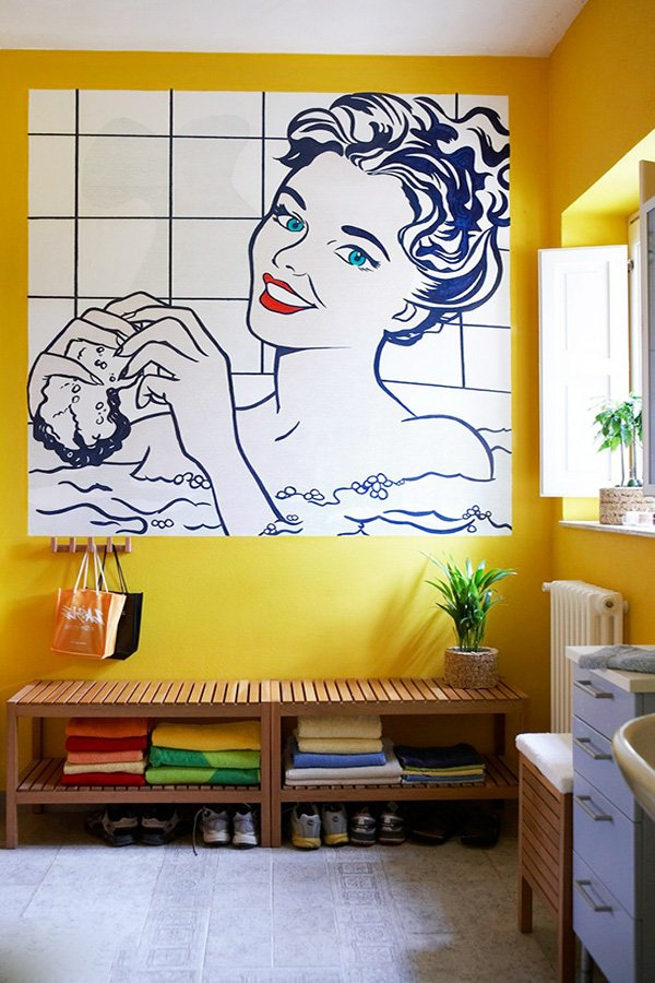 Modern And Flashy Pop Art Inspired Interior Design