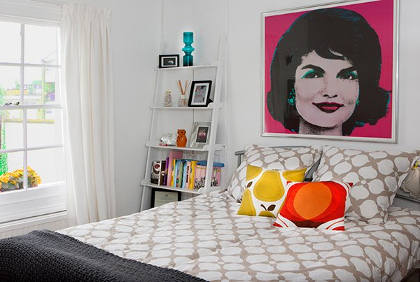 pop art bedroom decor