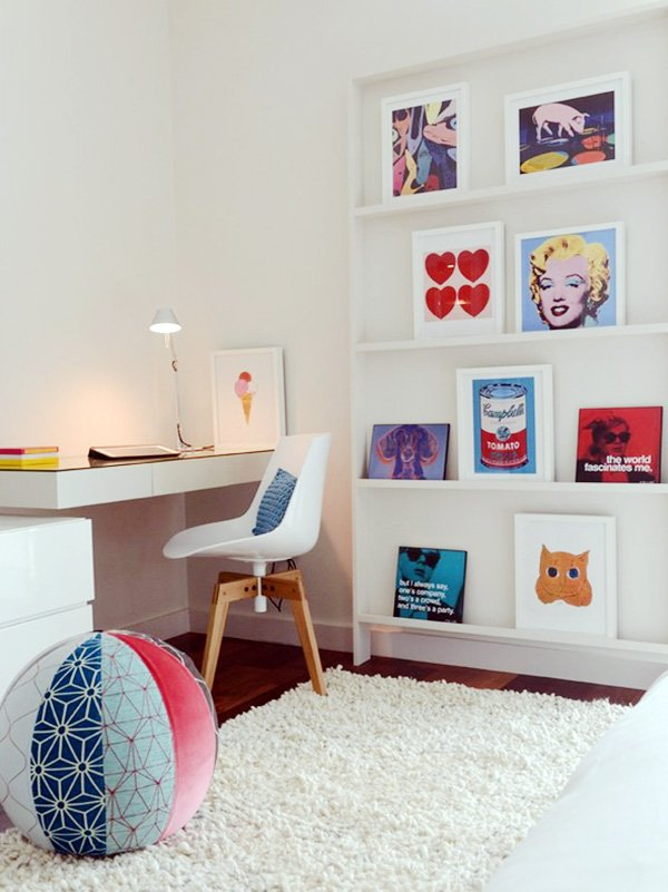 pop-art workspace