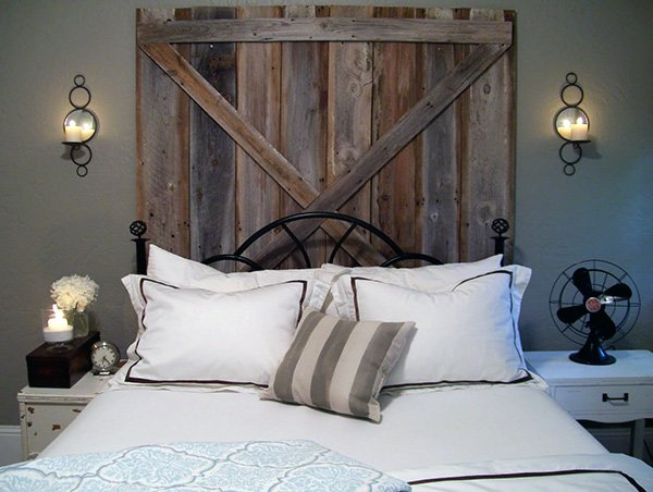 rustic bedroom lighting