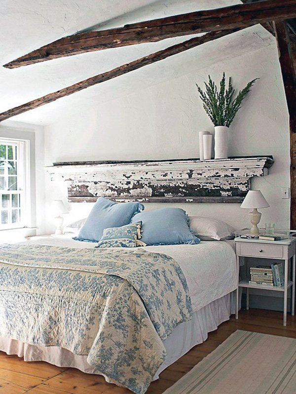 rustic touch to your bedroom
