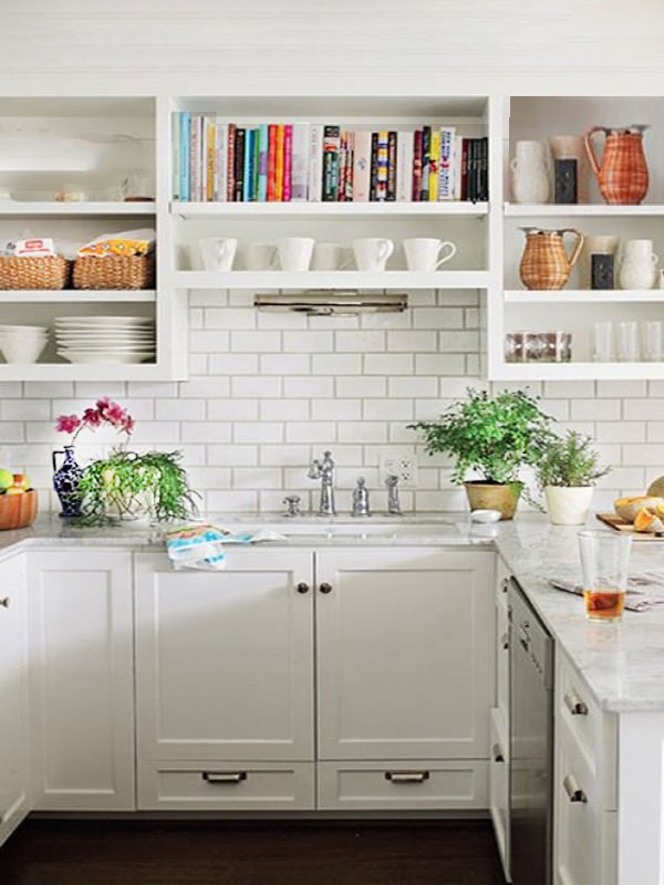 stylish small kitchen decor