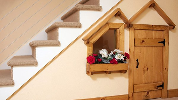 under stairs space ideas