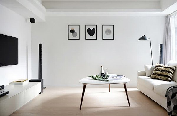 Stunning minimalist living room ideas for Minimalist design for small living room