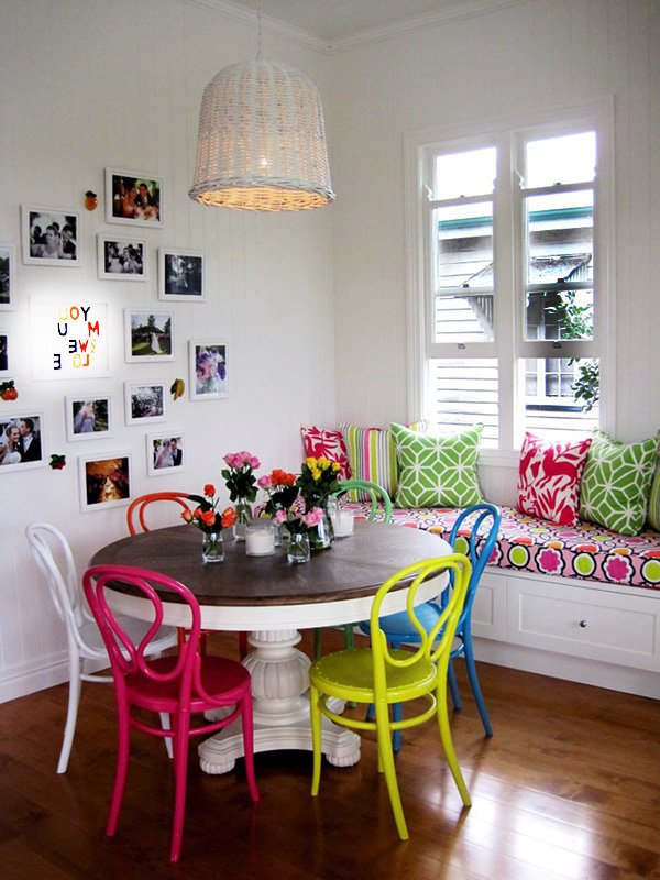 charming dining space decorating