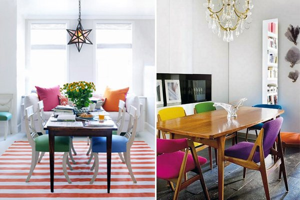 Colorful and Vibrant: Picturesque Dining Room Ideas