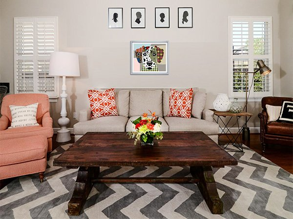 living room rug ideas