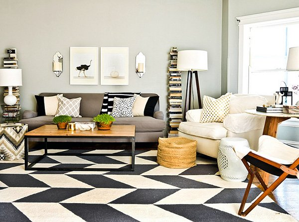 stylish area rug ideas