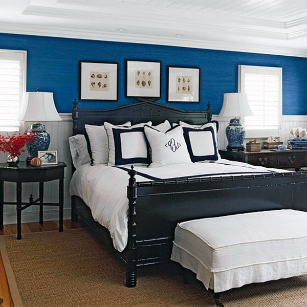 blue bedroom design