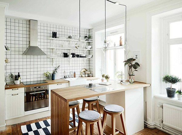 minimalist open kitchen ideas